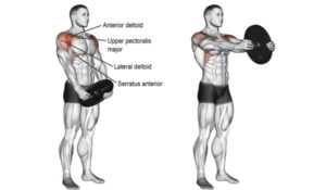 How to do the plate front raise