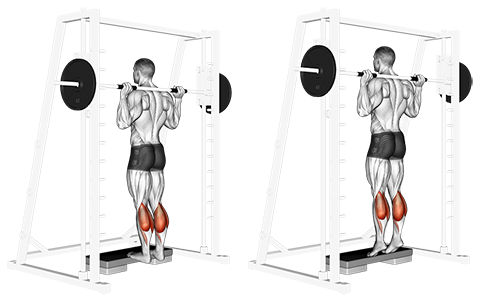 How To Do Barbell Calf Raises