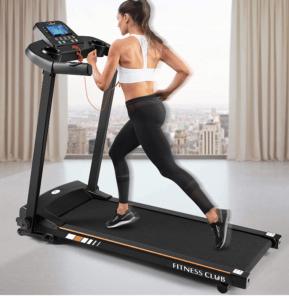 Bluetooth foldable electric treadmill