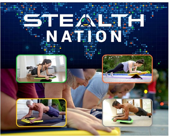 Stealth fitness core ab trainer