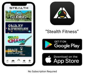 Stealth fitness core ab trainer game app