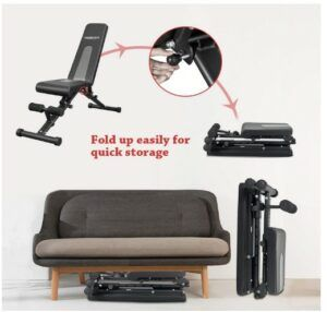 Vigbody Adjustable Weight Utility Bench Review(All-In-One)