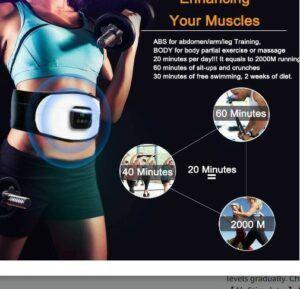 Umate Abs Stimulator Belt Ab Core Trainer