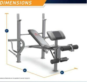 Marcy MD-389 Standard Weight Bench