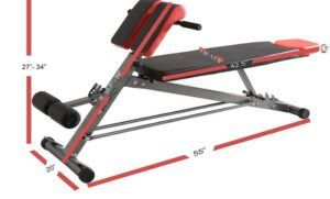 Finer Form (FF) Multifunctional Weight Bench