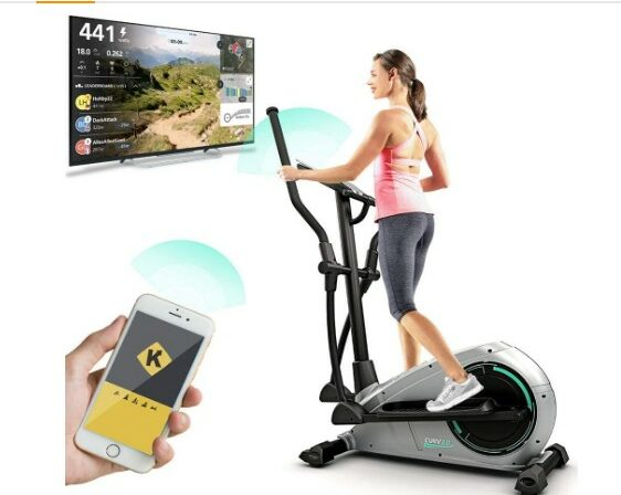 Bluefin Fitness Elliptical Cross Trainer CURV 2.0
