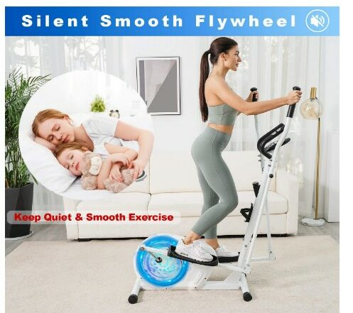 POMT E420 Elliptical Machine Trainer