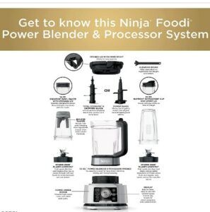 Ninja Foodi SS351 Power Blender