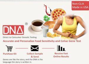MightyDNACeliac GlutenFood Sensitivity Test