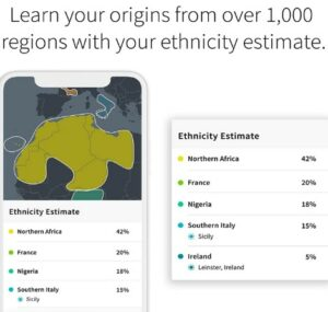 Ethnicity And Ancestry Trait DNA Test By AncestryDNA