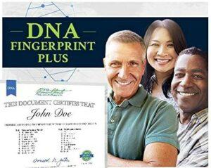 DNA Fingerprint Plus Ancestry Test