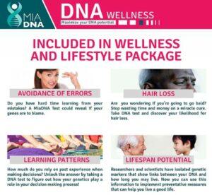 MiaDNAWellness DNA Test Kit -MiaDNAWellness DNA Test Kit-How Does It Work