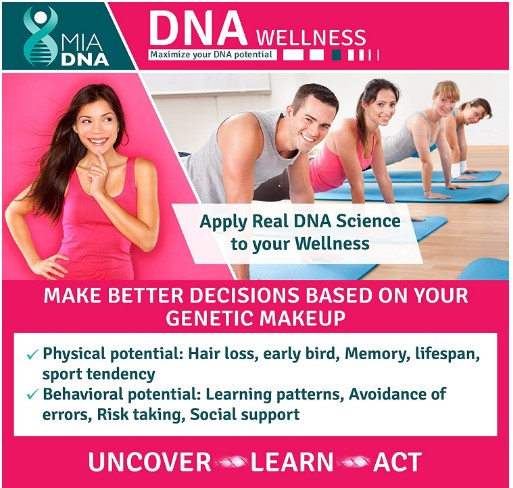 MiaDNAWellness DNA Test Kit