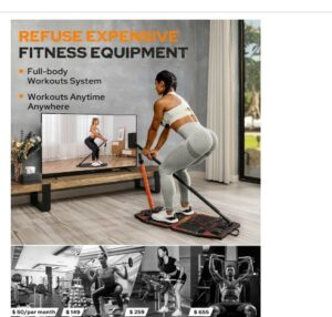 Gonex Portable Home Gym Workout Equipment-What is The Best Home Fitness Equipments To Lose Weight From Home