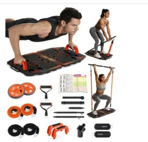 Gonex Portable Home Gym Workout Equpment -What is The Best Home Fitness Equipments To Lose Weight From Home?