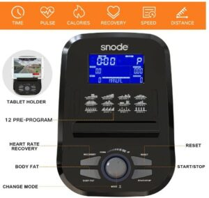Snode E25 Magnetic Elliptical Machine -How Does Walking Compare With Working Out On An Elliptical Machine?