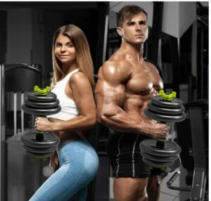 Aterastyle Adjustable Weight Dumbbell Set -What Is The Best Olympic Dumbbell Set To Train, Tone, And Lean Muscle From Home?