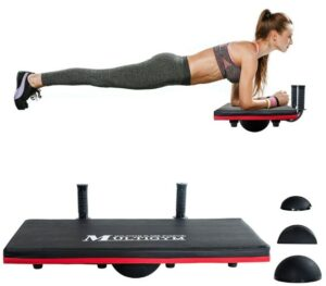 JX Fitness Balance Board -What Cheap Simplest Equipment Recommend For An Overall Abdominal Workout At Home?