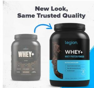 Legion Whey Protein -What Is The Best Healthiest Natural Whey Protein Powder Recommended For Weight Loss?