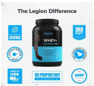 Legion Whey Protein -Which Is The Best Whey Isolate Protein For Skinning People To Gain Bulk Up Faster?