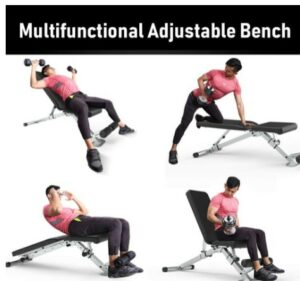 LeikefitnessUtility Weight Bench -What Is The Best Foldable Utility Weight Bench For Heavyweight Affordable?
