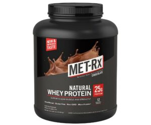 MET-Rx Whey Protein -Which Is The Best Whey Isolate Protein For Skinning People To Gain Bulk Up Faster?