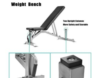 Merax Weight Bench -What Is The Best Professional Utility Weight Bench For Heavyweight Affordable?
