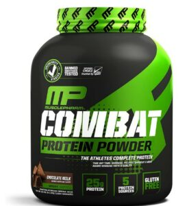 Musclepharm- Combat Protein Powder -Which Is The Best Whey Isolate Protein For Skinning People To Gain Bulk Up Faster?
