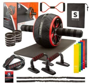 STELLARH Ab Roller Wheel KIT -What Cheap Simplest Equipment Recommend For An Overall Abdominal Workout At Home?