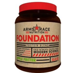 Arms Race Nutrition Foundation Protein Blend - Apple Fritter -What Whey Protein Is Recommended For Pro Or Pre-Workout Routine?