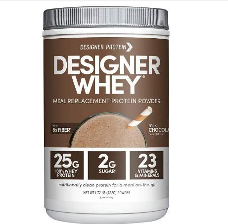 Designer Whey Protein Meal Powder,
