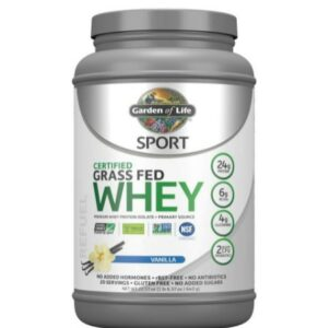 Garden of Life Sport Certified Grass Fed Clean Whey Protein -What Whey Protein Is Recommended For Pro Or Pre-Workout Routine?